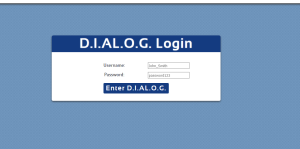 Web Development: D.I.AL.O.G. Organizational Assessment Tool